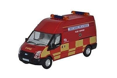 Oxford Diecast NFT020 Ford Transit LWB West Sussex F & R - 1:148