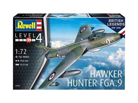Revell 03908 British Legends: Hawker Hunter FGA.9 1/72