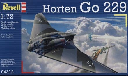 REVELL 04312 HORTEN GO-229 MODEL KIT 1/72