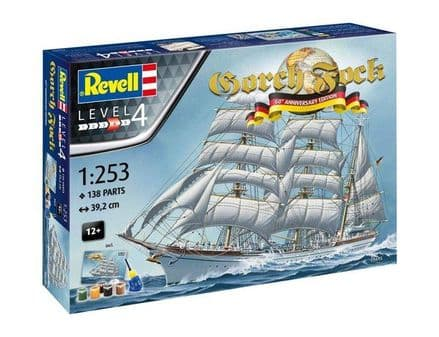 Revell 05695 GORCH FOCK - 60th Anniversary 1:253