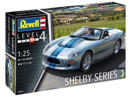 Revell 07039 Shelby Series 1 1/25