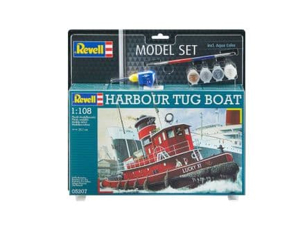 Revell 65207 Model Set Harbour Tug Boat 1:108
