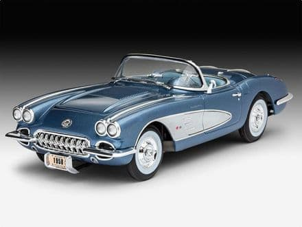 Revell 67037 Corvette Roadster Model Set 1/25