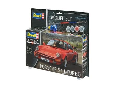Revell 67179 Model Set Porsche 911 Turbo 1:24