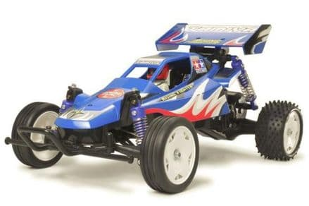 Tamiya 58416 Rising Fighter 1/10 Kit 2WD with Handset, Battery and Charger
