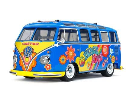 Tamiya  Volkswagen Type 2 (T1) Flower Power (M-05) Pre Painted