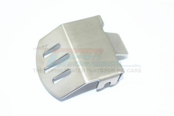 TRAXXAS TRX4 TRAIL CRAWLER Stainless Steel F/R Gear Box Bottom Protector Mount For TRX4 - 1pc - GPM