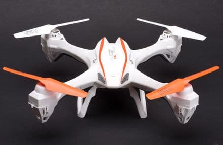 UDI U842 Falcon 6-Axis Quad with HD Camera White